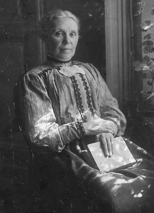 Elise Franks Mutter Bertha Frank
