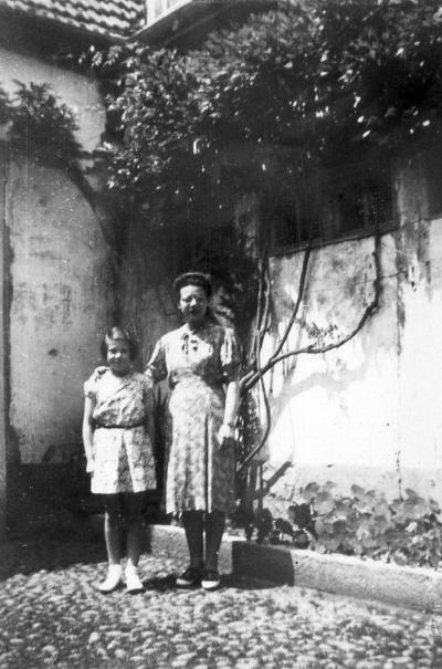 Sonja Samson mit ihrer Mutter