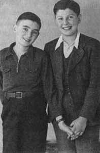 Hannelores Brüder: Wolfgang (links) und Selly (rechts)