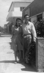 Minka und Ehemann Jupp 1943