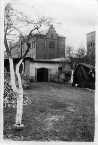 Anstaltsscheune in Brandenburg/Havel, in der etwa 10.000 Menschen vergast wurden