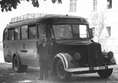 """Mit einem solchen Bus wurden die """"Behinderten"""" transportiert"""