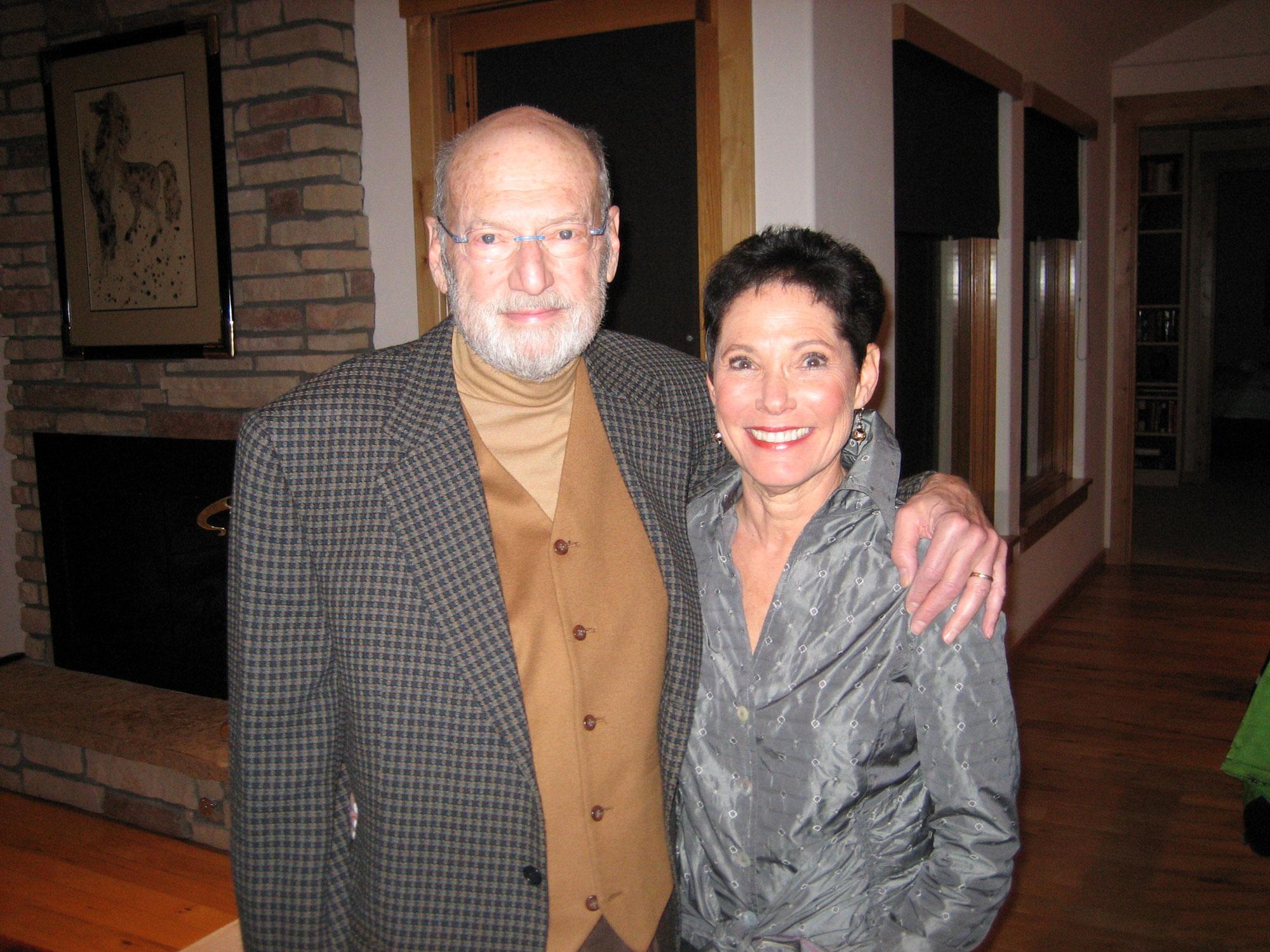 Werner und Ehefrau Goldie Knurr