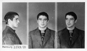 """""""Jupp"""" Cohen zum Zeitpunkt seiner Festnahme"""