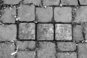 Stolperstein Jenny Fleischer-Alt, Edith Gál und Ilka Gál