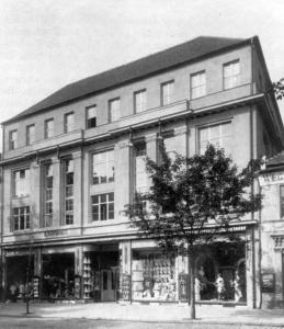 Das Kaufhaus Sachs & Berlowitz, 1933