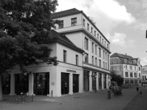 Das Gebäude zwischen Schillerstraße und Schützengasse, 2016