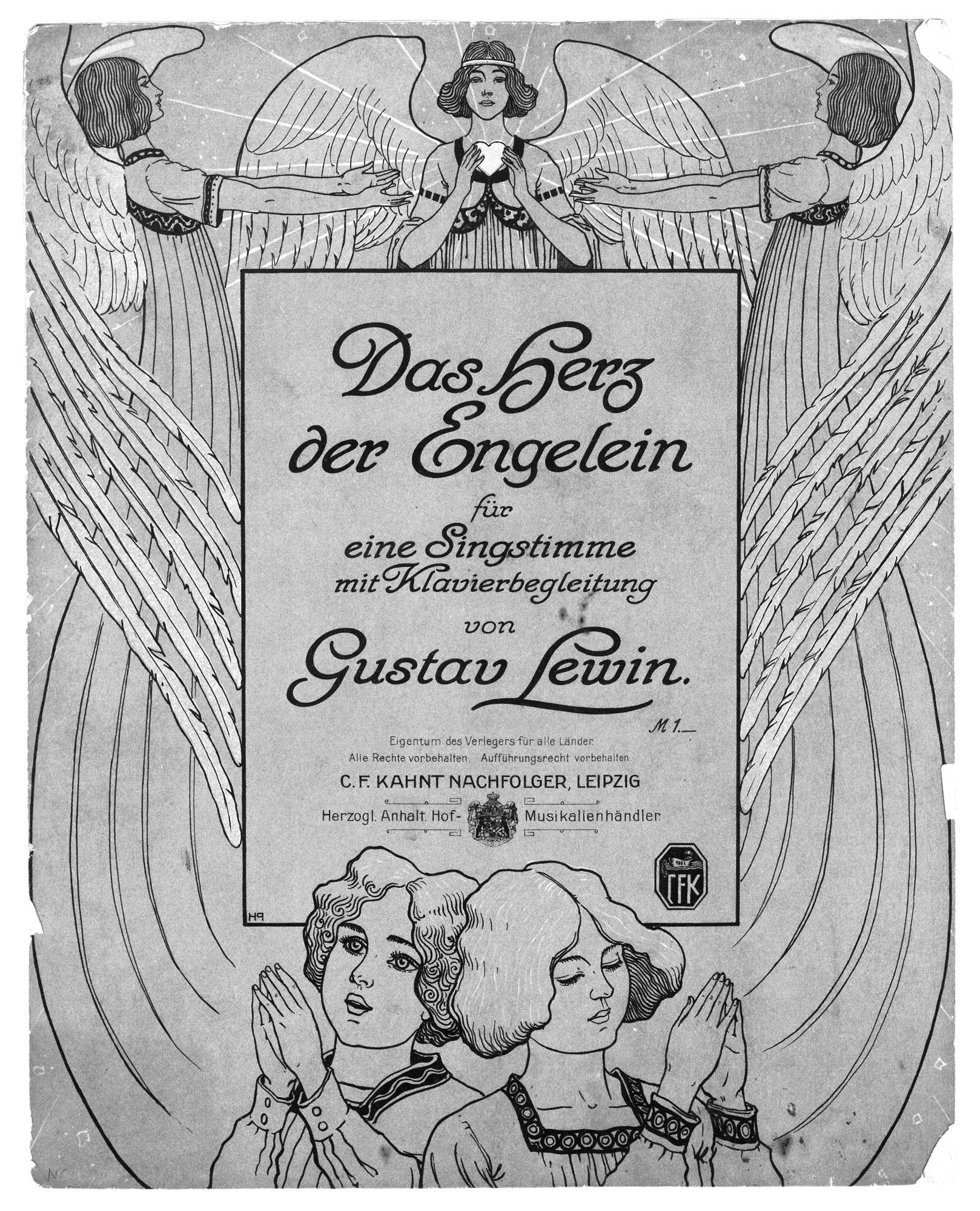 Musikbuch von Gustav Lewin