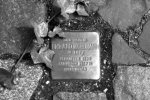 Stolperstein Richard Kohlmann