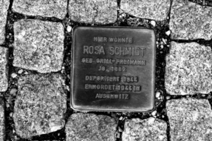 Stolperstein für Rosa Schmidt