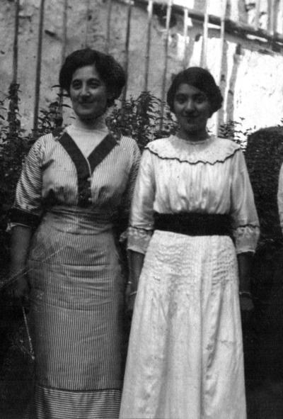 Henriette und Wally Goldschmidt